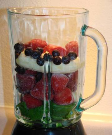 Breakfast Smoothie with Vegetables too!