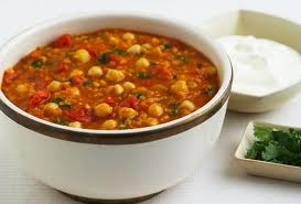 Moroccan Vegetables with Chickpeas