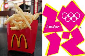 2012 London Olympics Sponsored by McDonalds
