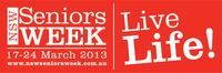 Seniors Week 2013