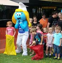 Coffs Coast Health Club Smurfs