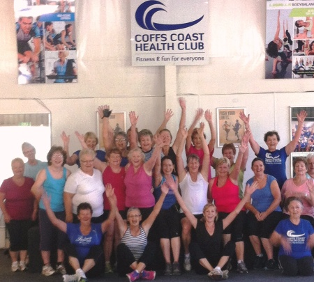Coffs Coast Health Club Seniors & Boomers