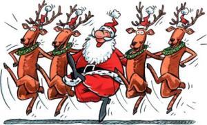 dance santa