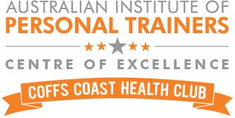 Coffs Coast Health Club CENEX logo gray