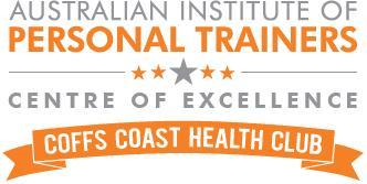 Coffs Coast Health Club CENEX logo gray