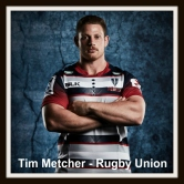 Tim Metcher - Melbourne Rebels Frame
